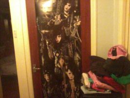 BVB Door Poster by marshmallow-away