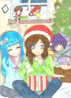 Christmas Contest Entry - Making Christmas by Jackstar-D