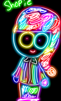 Gift: Neon Shopie by Ask-Amanda1
