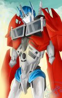 TFP Optimus Prime by Nemesis-Nexus