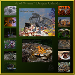 Isle of Wyrms Dragon Calendar by skiesofchaos