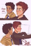 I love you, Dean Winchester. by muggleriot