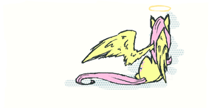 QuickTinyFluttershy by Stickaroo
