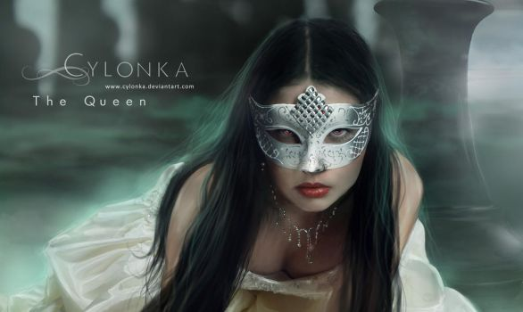 The Queen - close up by cylonka