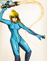 Zero Suit Samus by Cloudy-wolf