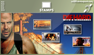 Stamps - 1995 - Die Hard 3 With A Vengeance by od3f1