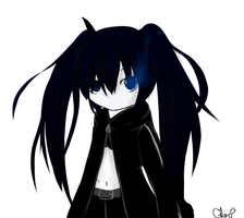 black rock shooter by KiwiiHime