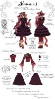 Fashion Design for NWA (contest entry) by IceQueenRocks