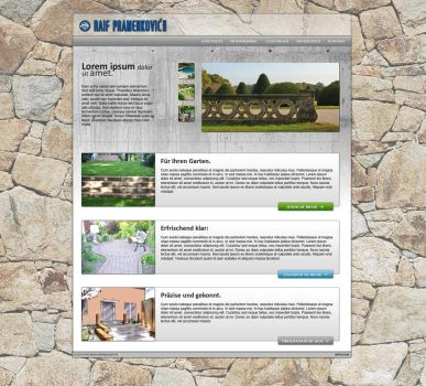 Another Web Page Mockup by madbonkey