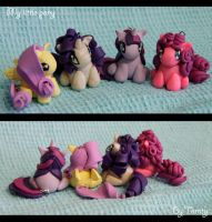 My little pony sculpture by Tomtu