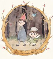 Over the garden wall by 444blackstar