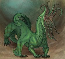 Tentacle rape drake by Ramul