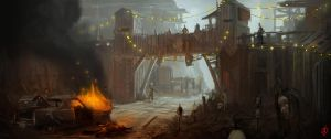 Cannibal Camp by NickDeSpain