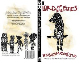 Lord of the Flies Book Cover 2 by hatthecat123