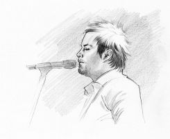 David Cook sketch by jasonpal