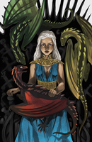 Mother of Dragons by vythefirst