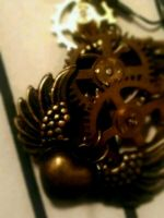 My steampunk heart by Charlette-Cheshire