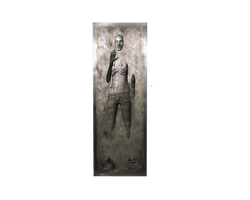 Paige slave girl in blue jeans traped in carbonite by willartmaster