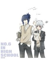 NO.6 in a High school by RoezNoah917