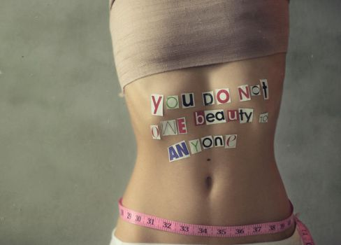 you do not owe beauty to anyone.. by IsisPina