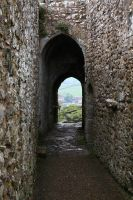 Castle passage2 by NickiStock