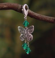 Butterfly Clip-on Charm by StephaniePride