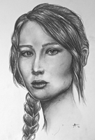 Katniss Everdeen by AnnieIsabel
