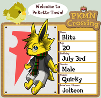 PKMN Crossing App - Blitz by MrRowboat