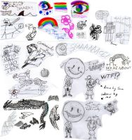 Misc. doodles by TheMim