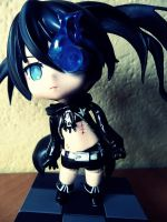 Black Rock Shooter by KawaiiiPandaMuffiiin