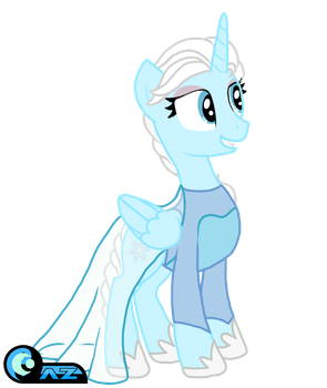 Gift: Frozen - Elsa by AZ-Derped-Unicorn