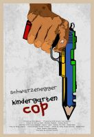 Kindergarten Cop Poster by edgarascensao