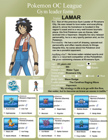 OCPL - Gym Leader Lamar by afo2006