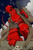 Hellboy by Plugin848y