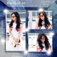 +HyunA | PHOTOPACK #OO1 by AsianEditions
