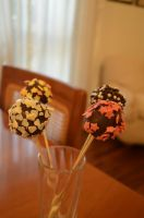 Cake pops! by CharlieBlack0