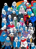 UNDERTALE AUs by KrystellaLyle