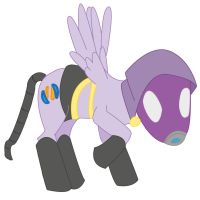 Mass effect: Tali'zorah pony by SugarFreeSprite
