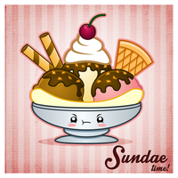 Sundae Time! by The-8th-Sin