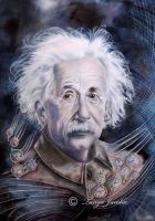 Einstein by tanya-and-coffee