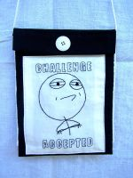 Challenge Accepted! by WhiteAntCrawls