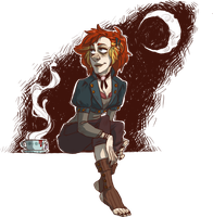 HOT TEA ON COOL NIGHTS by AgentDax