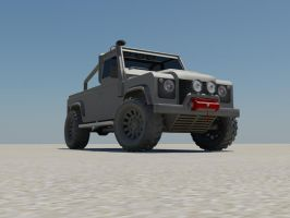 Defender Front by damianf86