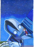 Prisma Iron Giant by cheakygirl