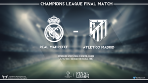 Champions League Final Match by Meridiann