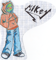 TMNT Mikey by WhiteTeenTiger