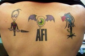 Mike's AFI Back by Mr-Taboo