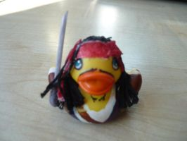 Jack Sparrow duck by ShayeraLee