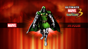 Ultimate MvC3 Dr Doom by CrossDominatriX5