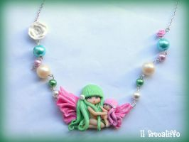 Fairy necklace by BrucaliffoBijoux
